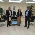 minister of youth and sport receive lebanese wushu federation cover