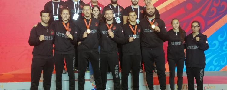 5th in the world wushu championship