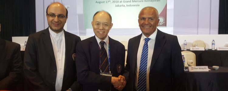 President nseir elected as E.B  WFA member